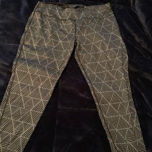 Danskin Black and gray workout leggings